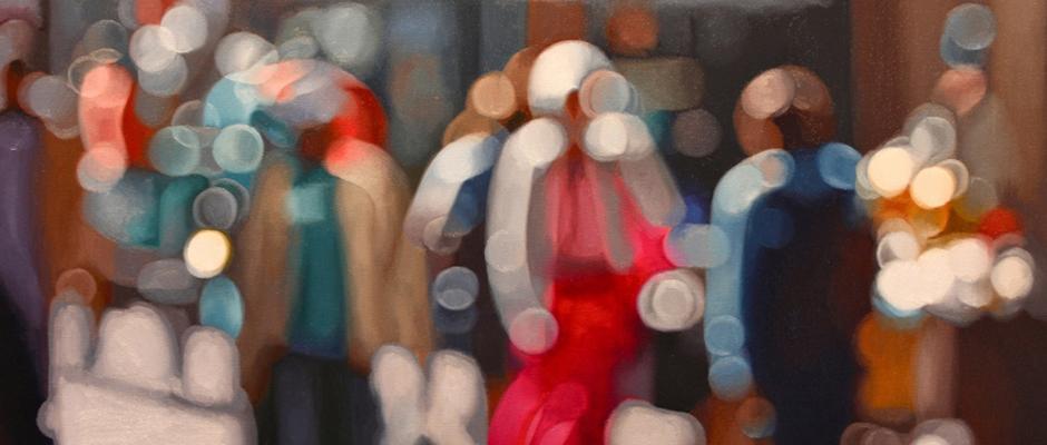 El Mundo Visto Por Alguien Que Sufre De Miopía, Retratado En Las Luminosas Pinturas De Philip Barlow