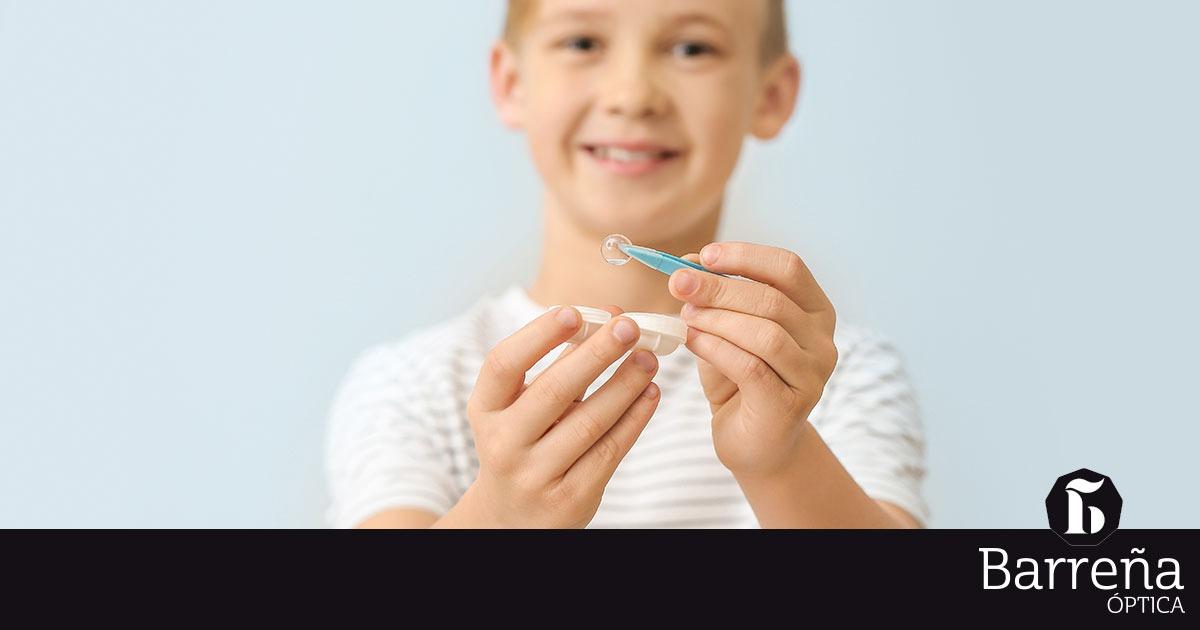 Uso De Lentillas En Los Niños